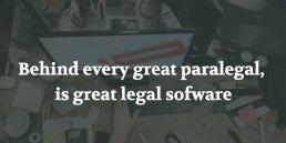 best legal software for paralegals illustration