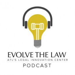 Evolve The Law Podcast Logo
