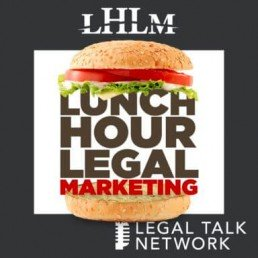 Lunch Hour Legal Podcast logo
