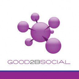 Good 2B Social podcast logo