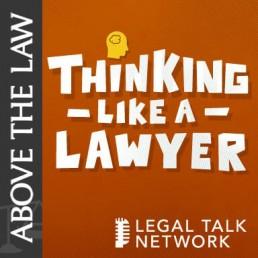 Thinking Like A Lawyer Podcast Logo